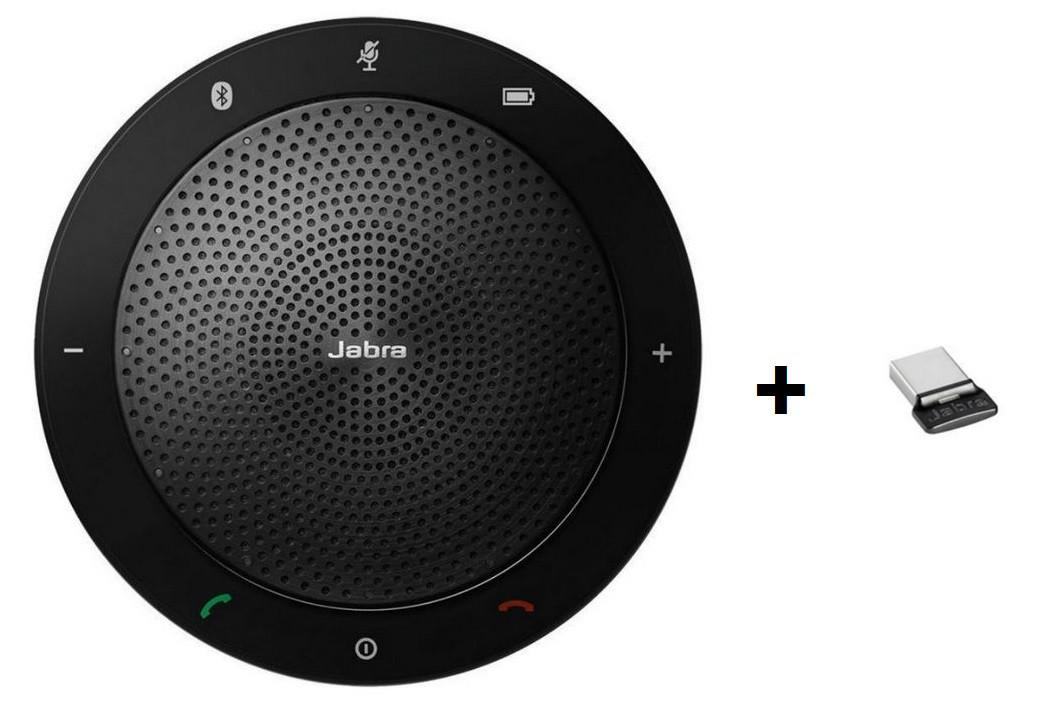 Jabra Speak 510+ - беспроводной usb спикерфон и адаптер Jabra Link 360