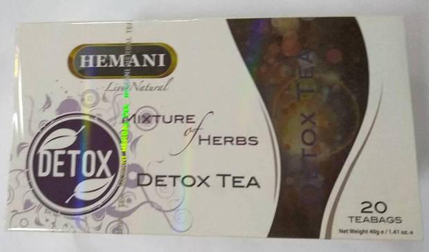Чай детокс Hemani 20 пак.