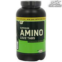 Аминокислоты Optimum nutrition Superior amino 2222 tabs, 320 tablets