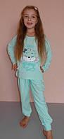Детский комплект для дома и сна пижама 8-9 , 10-11 , 12-13 лет Турция