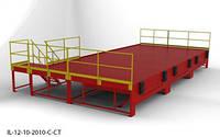 Пандус перегрузочный 6т с 3 платформами уравнительными 2х2.5м