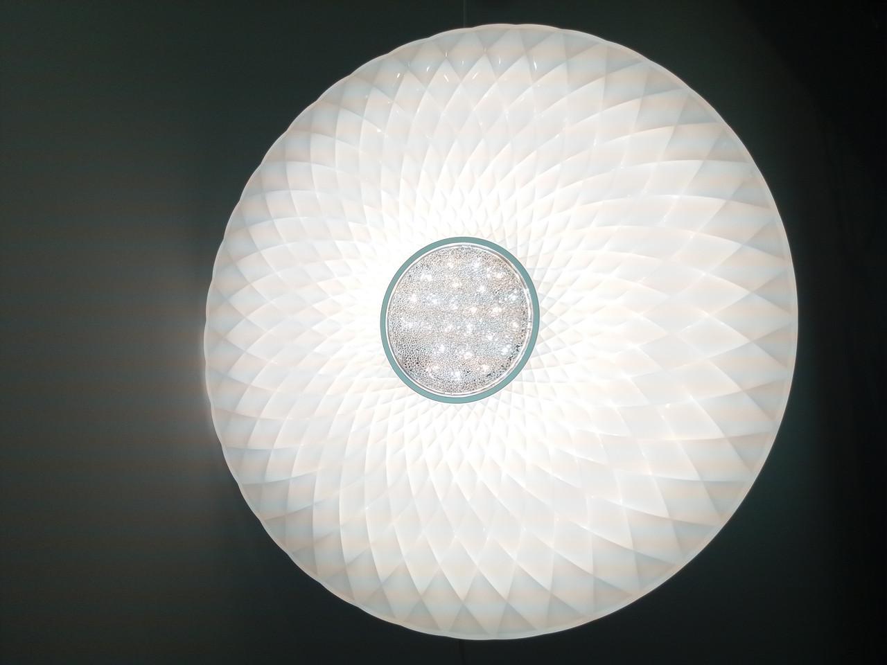 Потолочный светильник LED-FLOWER-CRYSTAL 60W напультеДУ