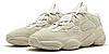 """Женскиекроссовки adidas Yeezy 500 """"Beige"""" (Адидас Изи) бежевые, фото 2"""