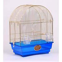 Клетка для средних и малых птиц Ellen mini ™️ Золотая клетка 42*25*55