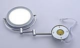 Зеркало настенное с подсветкой 6-057, фото 4