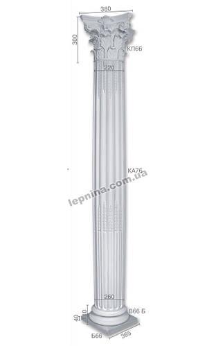 Колонна ка-76 (энтазис) из бетона