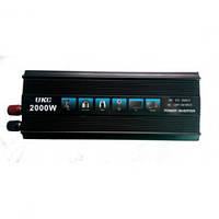 Инвертор12v-220v 2000W UKC
