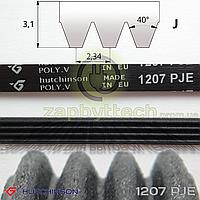 Ремень 4-х ручейковый 1207 PJE Hutchinson POLY.V (черный), Whirlpool 481235818204