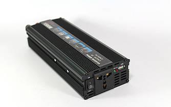 Перетворювач напруги 12v-220v 1200W UKC