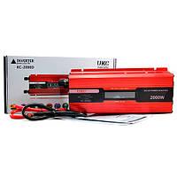 Инвертор 12/220 2000w c LCD-дисплеем UKC KC-2000D Преобразователь