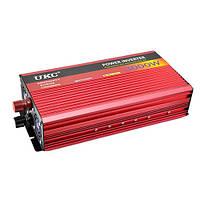 Преобразователь 12в-220в 3000Вт  UKC DP-3000W Инвертор