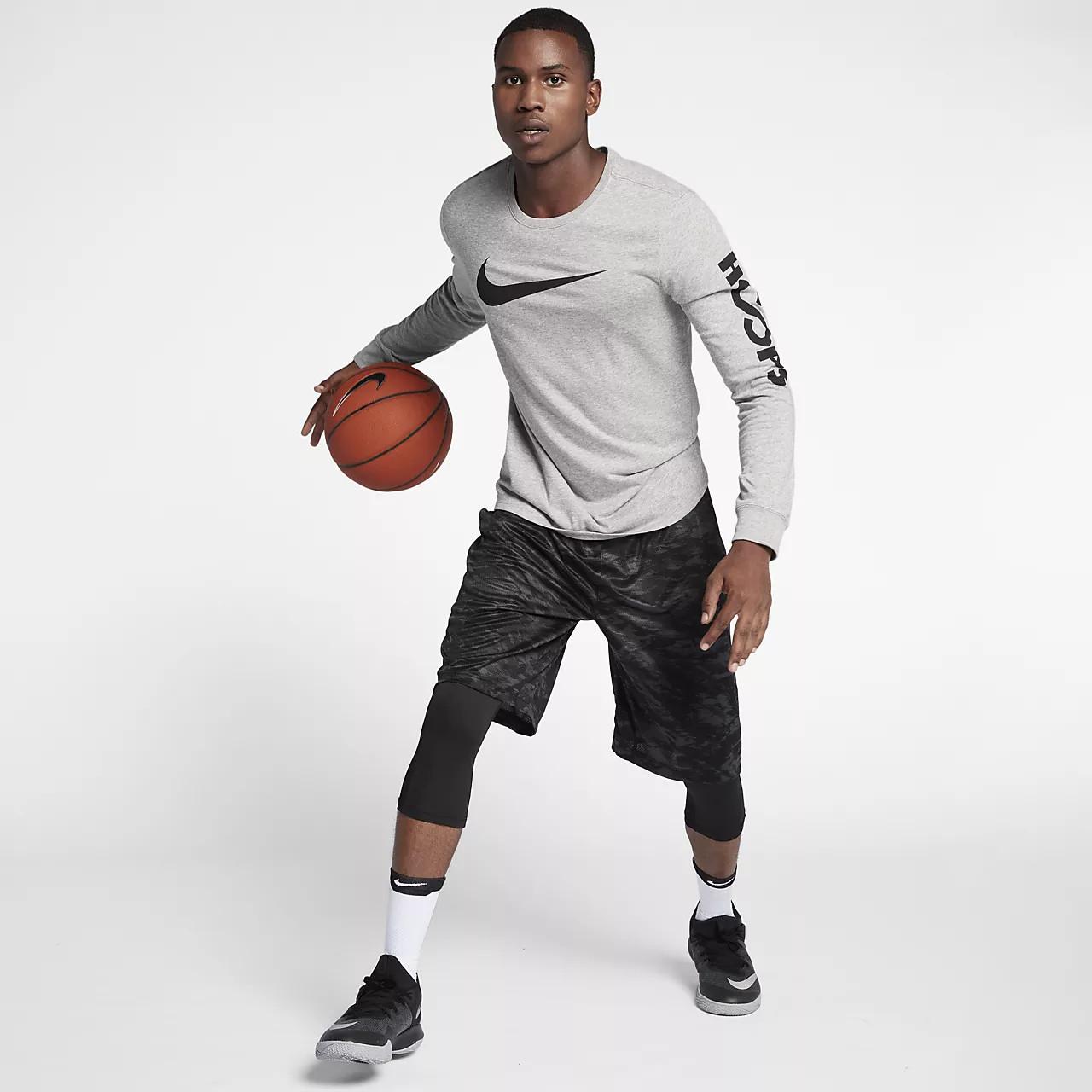 Tolstovka Nike Drylong Sleeve Basketball T Shirt 929372 063