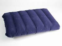Cиняя / Подушка надувная 41x27x7 см