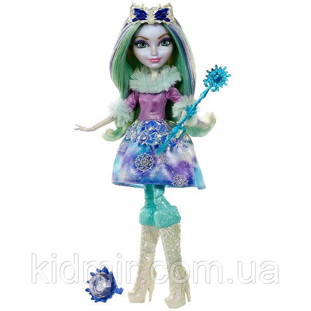 Кукла Ever After High Кристал Винтер (Crystal Winter) из серии Epic Winter Школа Долго и Счастливо
