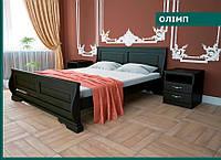 Деревянная кровать «Олімп»