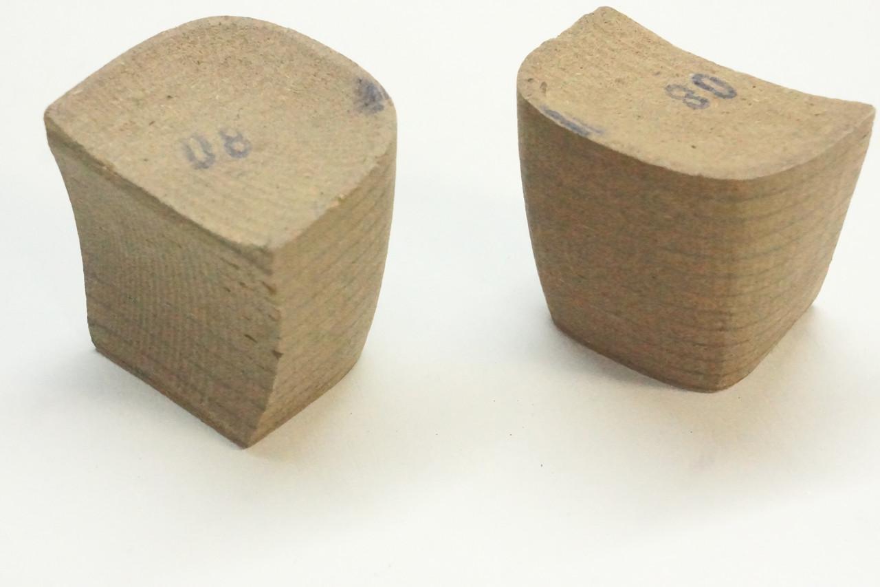 Каблук деревянный (мазанит) женский №08 (высота-5,2мм)