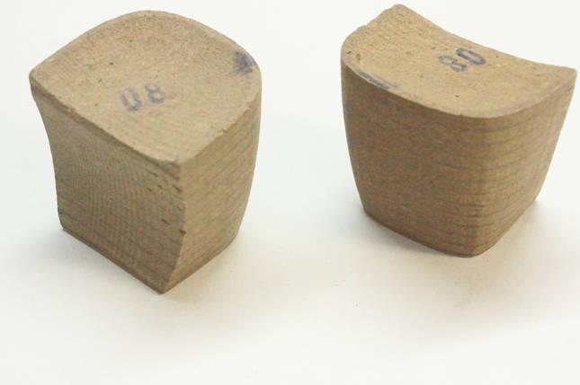 Каблук деревянный (мазанит) женский №08 (высота-5,2мм) , фото 2