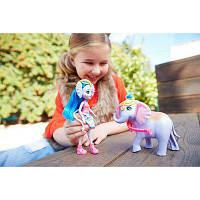 Кукла Энчантималс Слон Екатерина и питомец Антик Enchantimals Ekaterina Elephant , фото 1
