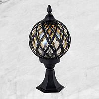 Садово-парковый фонарь (67-V0104-M-ST BK)