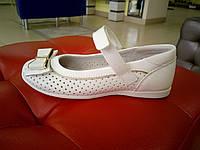 Белые  туфельки для девочки 31-35