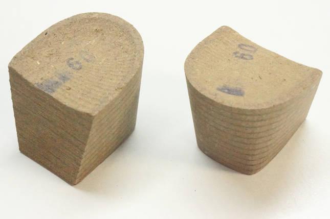 Каблук деревянный (мазанит) женский №09 (высота-5мм) , фото 2