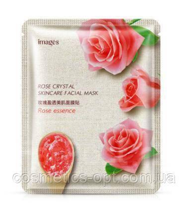 Тканевая маска для лица Images Rose Essence Crystal Skincare