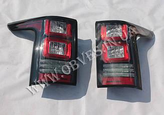 Задні ліхтарі Range Rover Vogue L405 2013+ (червоні)