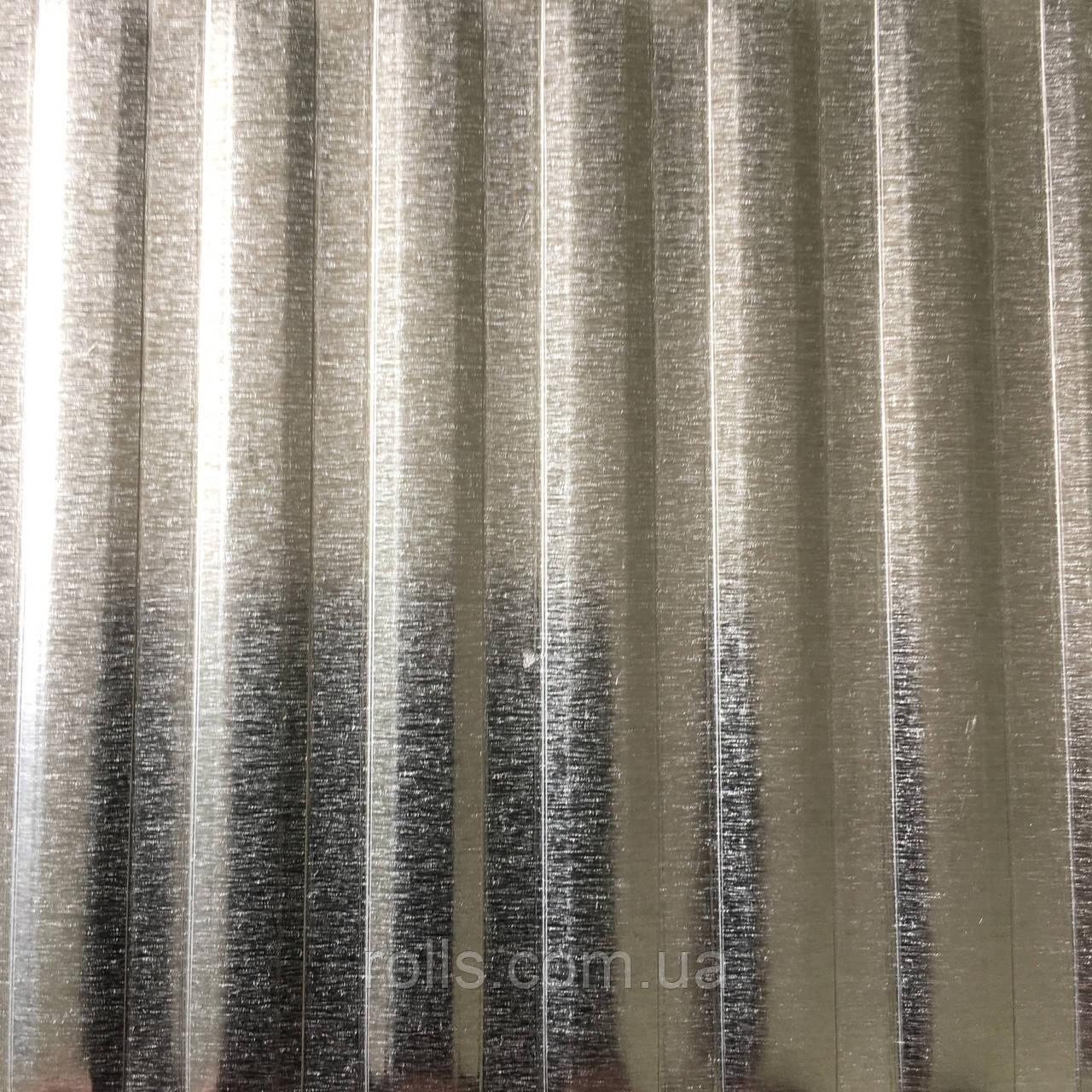 Лист рифленый алюминиевый 1,0х1000х2000мм PREFA DESIGN 918 Flat bar cross 12mm Flachstab quer