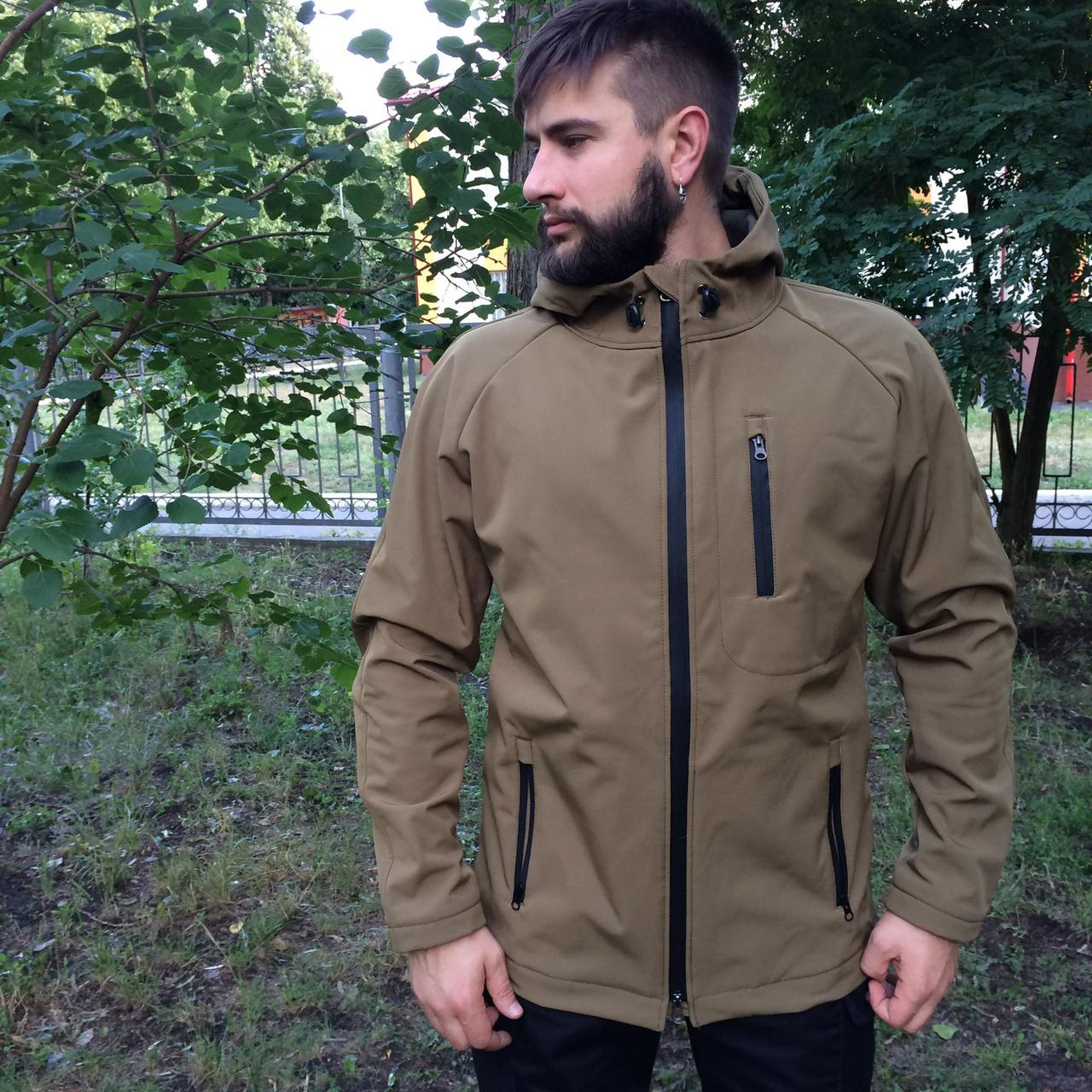 Куртка Softshell MAX-SV мужская цвет койот - 8104-3