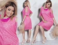Красивое гипюровое платье 50-52, 54-56, 58-60