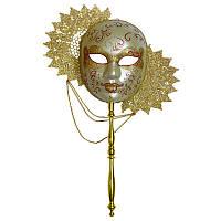Венецианская маска «Солнце» папье-маше, 28х31 см. PF026S