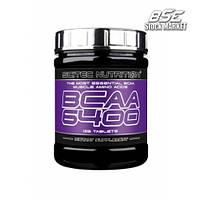 Аминокислоты BCAA Scitec Nutrition 6400, 125 tabl