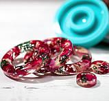 Силиконовый молд  на кольцо и линзу для подвесок, серег, браслета 39мм, фото 7