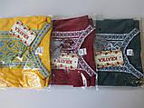 Вышитые хлопковые футболки оптом., фото 6