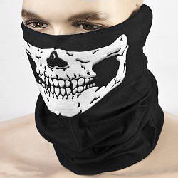 Бафф-маска с рисунком черепа