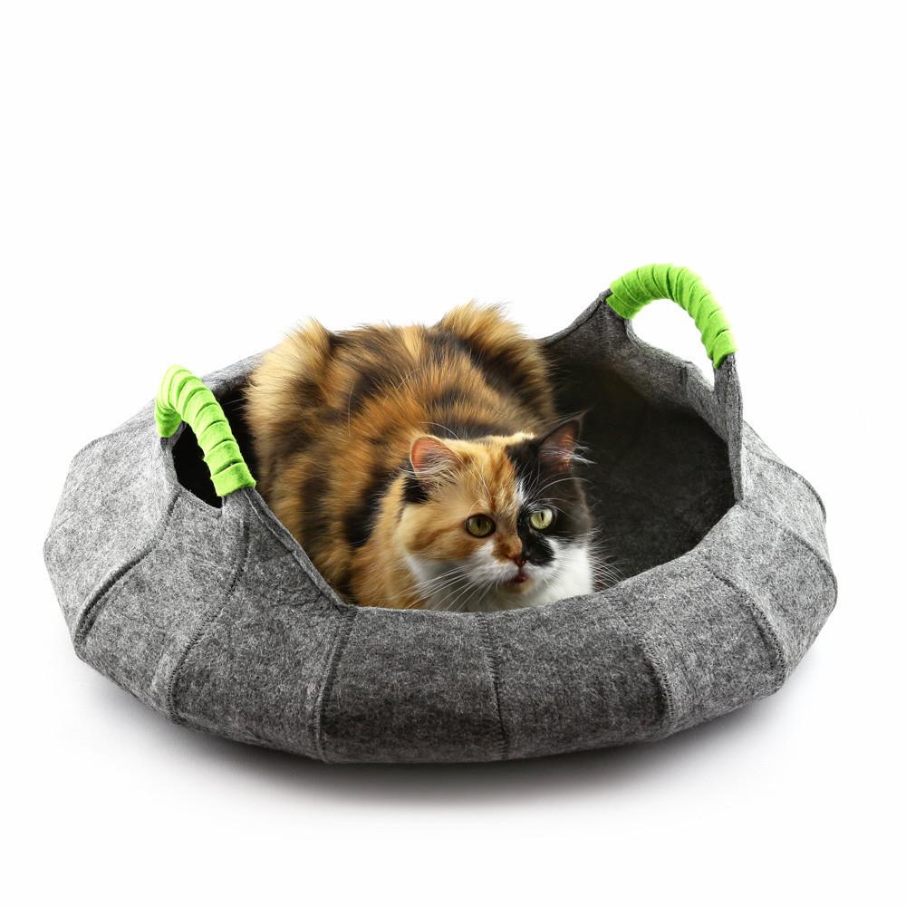 """Корзина-лежак для животных """"Деко"""" с подушкой, Digitalwool"""