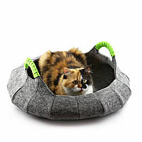 """Корзина-лежак для животных """"Деко"""" с подушкой, Digitalwool, фото 1"""