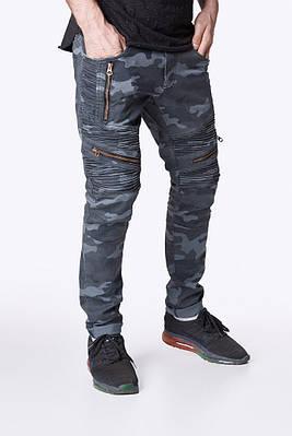 Штаны мужские камуфляжные Урбан Камо (Urban Camo) от бренда Feel and Fly размер S, M, L, XL