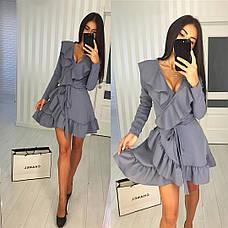 Платье с рюшами , фото 2