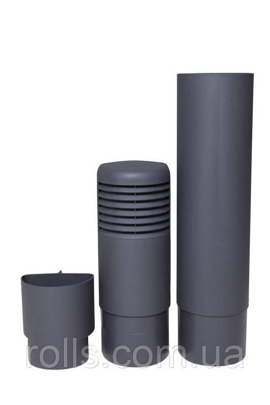 ремонтый цокольный дефлектор серый Ross 790637 rolls.com.ua