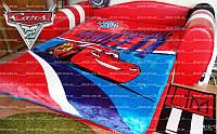 Одеяло ТАЧКИ полуторное плюшевое, original 160x220, фото 1