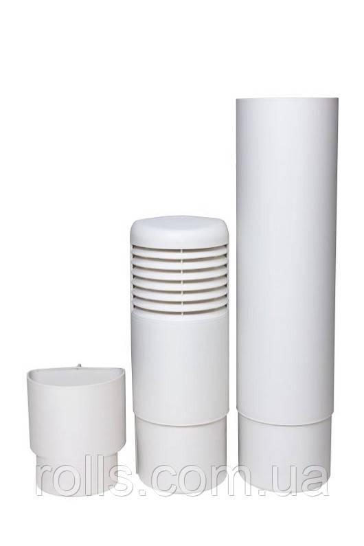ремонтный цокольный дефлектор белый Ross 790640 rolls.com.ua