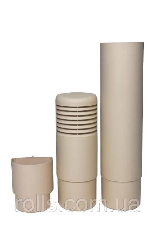 ремонтный цокольный дефлектор бежевый Ross 790631 rolls.com.ua