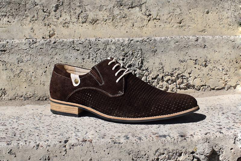 Чоловічі замшеві туфлі Lucky Choice - будь в тренді! Остання пара 44 розмір!