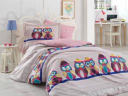 Комплект постельного белья ТМ Hobby Poplin Linda сиреневый 200x220/2x50x70