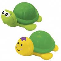 Инерционная игрушка – ШУСТРАЯ ЧЕРЕПАШКА (ассорти салатовый, желтый)