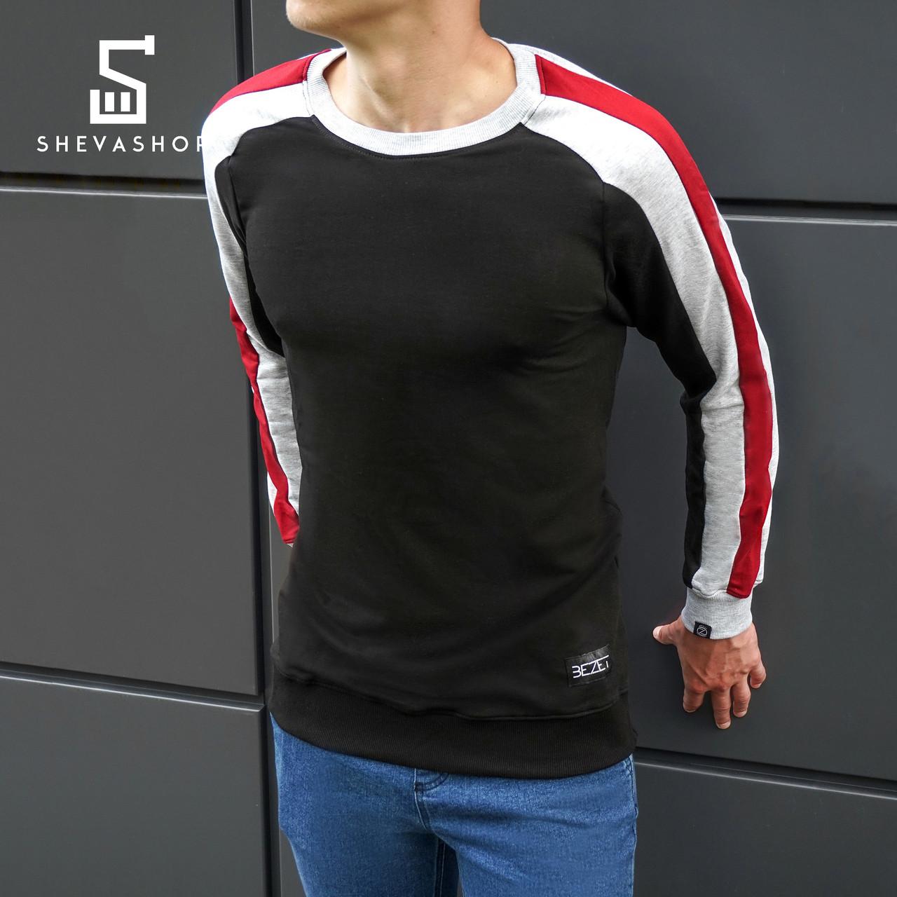 Свитшот мужской beZet Combi '18, черный XXL - ShevaShop - одежда родом из Украины в Харькове