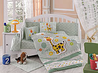 Комплект постельного белья ТМ Hobby детский Puffy салатовий 100x150/2x35x45