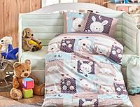 Комплект постельного белья ТМ Hobby детский Snoopy мятный 100x150/2x35x45