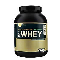 Натуральный протеин Optimum Nutrition 100% Natural Whey Gold Standard Gluten Free 4,8 lb (2,18 кг)